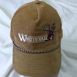 Other - Whitetail Corduroy NEW Hat.